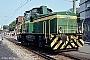 """Krauss-Maffei 19819 - AVG """"V 63"""" 16.05.1982 - Ettlingen, StadtbahnhofArchiv Ingmar Weidig"""