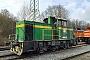 "Krauss-Maffei 19882 - Rheinkalk ""3"" 20.01.2015 - Menden-Horlecke, Übergabebahnhof RheinkalkLucas Ohlig"