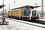 """Krupp 3985 - DB """"260 562-4"""" 10.12.1981 - Dieburg, BahnhofKurt Sattig"""