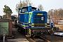 """Krupp 3995 - MWB """"V 663"""" 12.03.2011 - Harpstedt, BahnhofMalte Werning"""