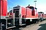 """Krupp 4011 - DB """"360 588-8"""" 07.04.2002 - Mannheim, BahnbetriebswerkErnst Lauer"""