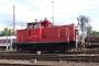 """Krupp 4480 - Railion """"363 160-3"""" 18.08.2007 - Dortmund, BetriebshofPeter Gerber"""