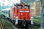 """Krupp 4486 - Railion """"363 166-0"""" 26.04.2005 - Chemnitz, HauptbahnhofKlaus Hentschel"""