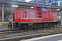"Krupp 4486 - DB Cargo ""363 166-0"" 21.11.2020 - München, Hauptbahnhof, Gleis 6Silvia Alkan"
