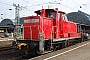 """Krupp 4492 - DB Schenker """"363 172-8 """" 14.03.2009 - Karlsruhe, HauptbahnhofYannick Hauser"""