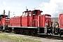 """Krupp 4506 - DB Schenker """"363 186-8"""" 23.04.2012 - Kornwestheim, BahnbetriebswerkRalph Mildner"""