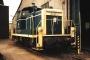 """Krupp 4507 - DB """"361 187-8"""" 25.05.1990 - Göttingen, BahnbetriebswerkAndreas Kabelitz"""