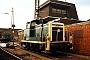 """Krupp 4508 - DB """"361 188-6"""" 25.05.1990 - Göttingen, BahnbetriebswerkAndreas Kabelitz"""