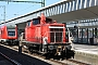 """Krupp 4511 - DB Schenker """"363 191-8"""" 16.05.2014 - Münster, HauptbahnhofThomas Reyer"""