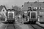 "Krupp 4515 - DB ""361 195-1"" 24.04.1988 - Düsseldorf, Bahnbetriebswerk AbstellbahnhofMalte Werning"