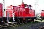 """Krupp 4515 - Railion """"363 195-9"""" 14.11.2004 - Mannheim, BetriebshofErnst Lauer"""