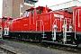 """Krupp 4518 - Railion """"363 198-3"""" 07.11.2004 - Mainz-Bischofsheim, BahnbetriebswerkErnst Lauer"""
