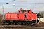 "Krupp 4617 - DB Cargo ""363 205-6"" 03.01.2017 - Basel, Badischer BahnhofTheo Stolz"