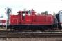 """Krupp 4618 - Railion """"363 206-4"""" 18.08.2007 - Dortmund, BetriebshofPeter Gerber"""