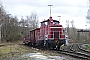 """Krupp 4622 - DB Cargo """"363 210-6"""" 15.02.2014 - Dinslaken, Anschluss BentelerJura Beckay"""