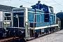 """Krupp 4625 - DB """"261 213-3"""" __.__.1980 - Gießen, HauptbahnhofErnst Lauer"""