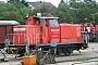 """Krupp 4630 - Railion """"363 218-9"""" 22.07.2007 - Fulda, BahnbetriebswerkRalf Lauer"""