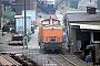 """LEW 17678 - DR """"105 152-3"""" 18.09.1991 - Halle, Bahnbetriebswerk GErnst Lauer (Archiv Manfred Uy)"""
