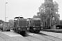 """MaK 1000060 - WLE """"VL 0642"""" 10.06.1980 - Lippstadt, Bahnbetriebswerk Stirper StraßeChristoph Beyer"""