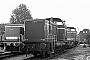"""MaK 1000061 - WLE """"VL 0643"""" 21.10.1979 - Lippstadt, BahnbetriebswerkMichael Hafenrichter"""