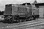 """MaK 1000153 - BE """"D 8"""" 21.09.1978 - Neuenhaus, BahnbetriebswerkHelmut Beyer"""