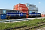 """MaK 1000245 - Rhenus Rail """"40"""" 27.07.2014 Mannheim,Hafen [D] Ernst Lauer"""