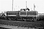 "MaK 1000257 - TWE ""V 133"" 29.09.1983 - Gütersloh, Bahnhof NordWerner Wölke"
