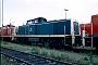 """MaK 1000259 - DB Cargo """"290 001-7"""" 23.06.2000 - Mannheim, BetriebshofErnst Lauer"""