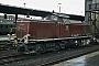 "MaK 1000391 - DB ""291 901-7"" 07.03.1973 - Bremen, HauptbahnhofNorbert Lippek"