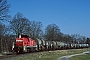 """MaK 1000410 - DB Schenker """"296 037-5"""" 10.03.2014 - Winsen (Luhe)-TönnhausenBernd Spille"""