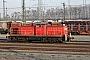 """MaK 1000417 - DB Cargo """"296 044-1"""" 20.01.2019 - Mannheim, RangierbahnhofErnst Lauer"""