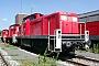 """MaK 1000424 - Railion """"290 051-2"""" 13.07.2003 - Mainz-Bischofsheim, BahnbetriebswerkErnst Lauer"""