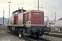 "MaK 1000424 - DB ""290 051-2"" 24.04.1982 - Saarbrücken, Bahnbetriebswerk RangierbahnhofMartin Welzel"