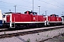 """MaK 1000430 - DB """"290 057-9"""" 19.05.1990 - Mannheim, BahnbetriebswerkErnst Lauer"""