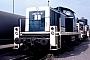 """MaK 1000441 - DB """"290 110-6"""" 04.10.1987 - Mannheim, BahnbetriebswerkErnst Lauer"""