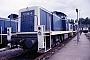 """MaK 1000446 - DB """"290 115-5"""" 18.07.1993 - Karlsruhe, BahnbetriebswerkErnst Lauer"""