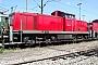 """MaK 1000458 - DB Cargo """"290 127-0"""" 28.07.2002 - Mannheim, BetriebshofErnst Lauer"""