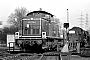 """MaK 1000460 - DB """"290 129-6"""" 28.02.1976 - Gelsenkirchen-Bismarck, BahnbetriebswerkMichael Hafenrichter"""