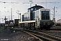 "MaK 1000473 - DB ""290 142-9"" 03.05.1988 - Gießen, RangierbahnhofIngmar Weidig"