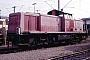 """MaK 1000485 - DB """"290 154-4"""" 20.09.1987 - Mannheim, BahnbetriebswerkErnst Lauer"""