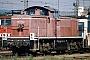 """MaK 1000521 - DB """"290 213-8"""" 28.08.1993 - Mannheim, BahnbetriebswerkErnst Lauer"""