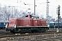 "MaK 1000526 - DB ""290 218-7"" 08.03.1991 - BebraIngmar Weidig"
