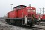 """MaK 1000541 - Railion """"294 233-2"""" 16.01.2005 - Mannheim, BahnbetriebswerkErnst Lauer"""