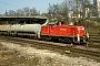 """MaK 1000576 - DB Cargo """"294 276-1"""" 13.03.2002 - Ulm, HauptbahnhofWerner Brutzer"""