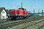 """MaK 1000586 - DB """"290 286-4"""" 19.04.1984 - Stuttgart-MünsterWerner Brutzer"""