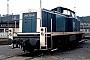 """MaK 1000604 - DB """"290 329-2"""" 23.01.1993 - Trier-Ehrang, BahnbetriebswerkErnst Lauer"""