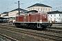 "MaK 1000606 - DB ""290 331-8"" 25.08.1981 - Regensburg, HauptbahnhofNorbert Lippek"