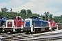 """MaK 1000610 - DB """"290 335-9"""" 21.07.1991 - Ulm, BahnbetriebswerkStefan Motz"""