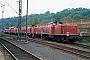 "MaK 1000613 - DB ""290 338-3"" 08.06.1986 - Kassel, BahnbetriebswerkFrank Pfeiffer"