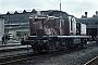 "MaK 1000647 - DB ""290 372-2"" 12.08.1981 - Bremen, AusbesserungswerkNorbert Lippek"